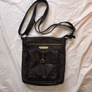 Stone Mountain USA Black Crossbody Purse